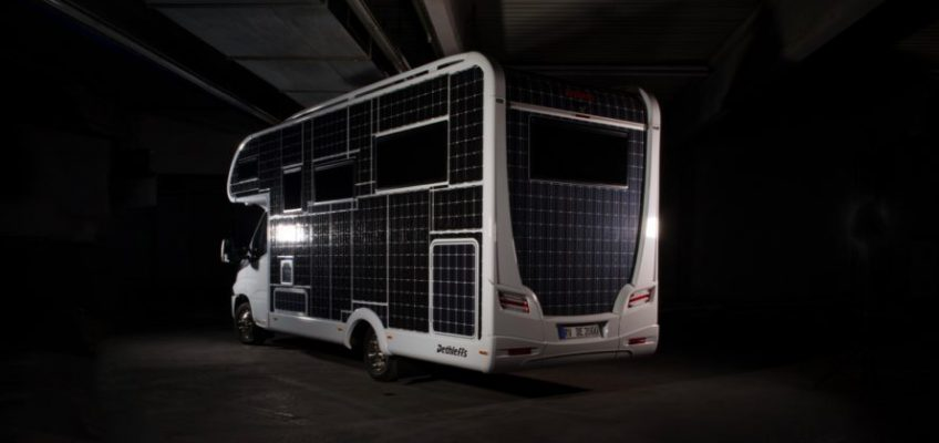 veicolo a energia rinnovabile, camper energia fotovoltaica